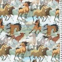 Vilda hästar Digitaltryck