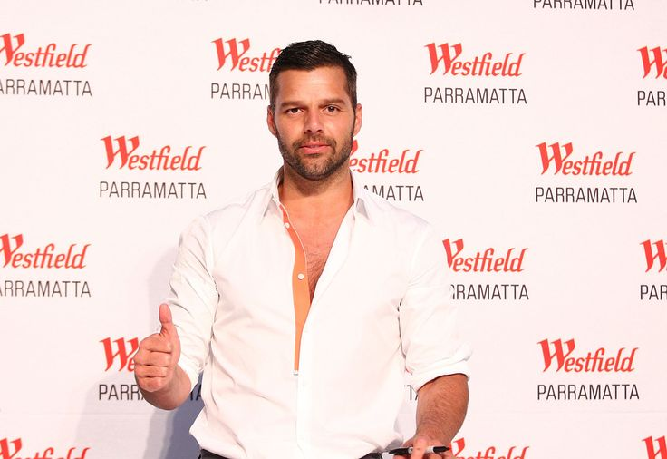 Ricky Martin - Ricky Martin Appears at Westfield Parramatta