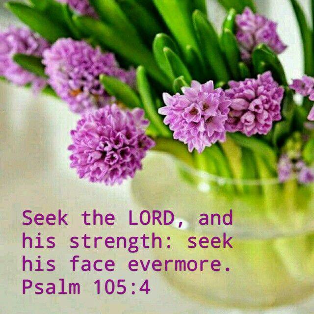 Psalm 105:4 KJV