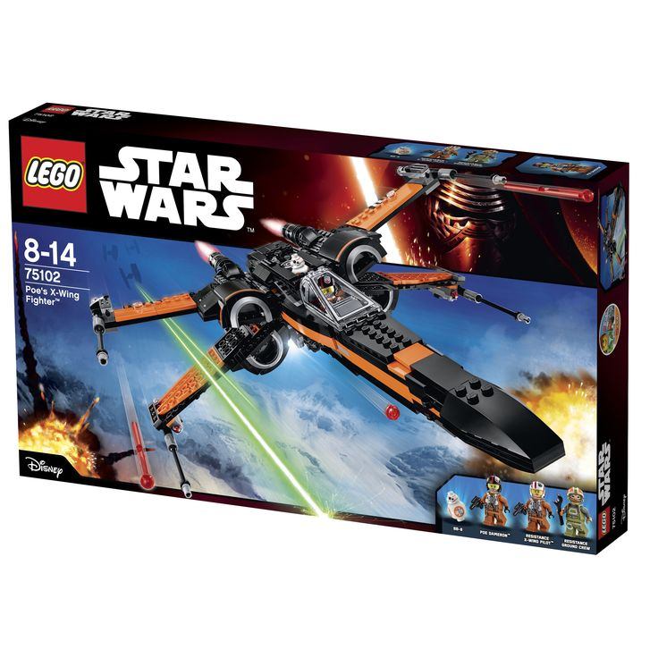 LEGO Star Wars 75102 Poes-X-Wing-Fighter