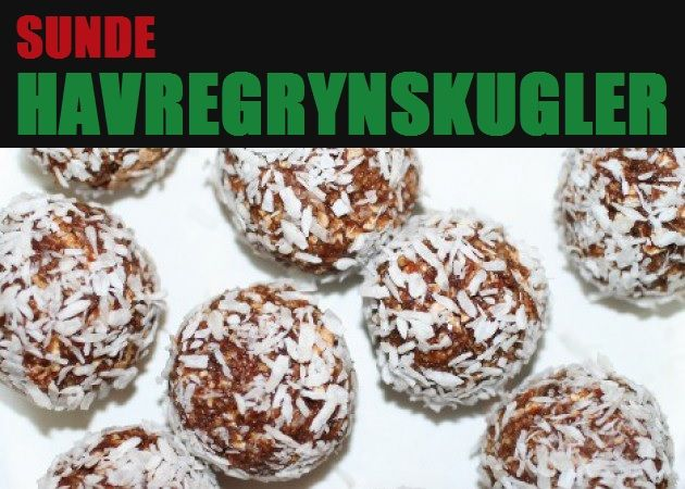 Suveræne havregrynskugler, der kan nydes med god samvittighed, da de ikke indeholder sukker men i stedet er fyldt med gode sager såsom honning, tørrede abrikoser, kakao og kokos.