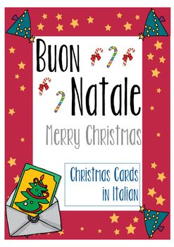 "A collection of Christmas cards in Italian to wish a wonderful Christmas in Italian.Let your students experiment with language, writing a Christmas Card in Italian to the people they love.Your students will be very happy to write A ""Buon Natale"" card in Italian to their family, relatives or friends.A simple and nice way to use Italian in a meaningful context.***************************************************************************You might also be interested in: Flashcards for learners of…"