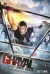 Ghayal Once Again 2016 300MB Movie DVDrip 700MB Download