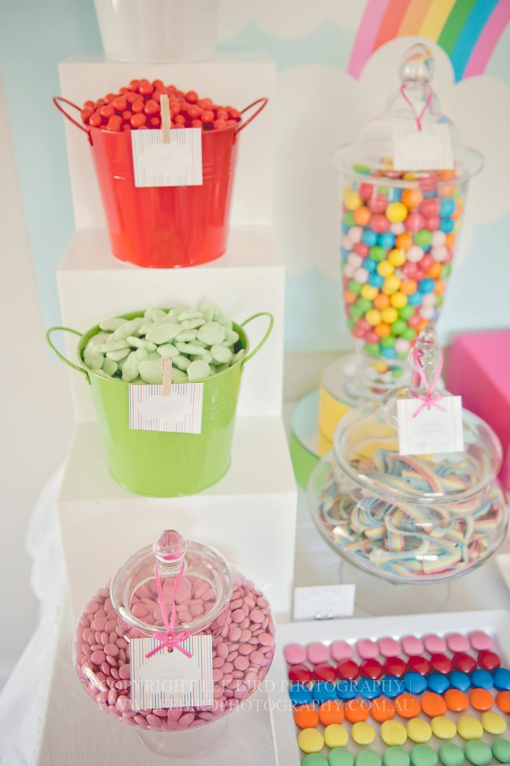 Rainbow Candy Cake: 25+ Best Ideas About Rainbow Candy Buffet On Pinterest