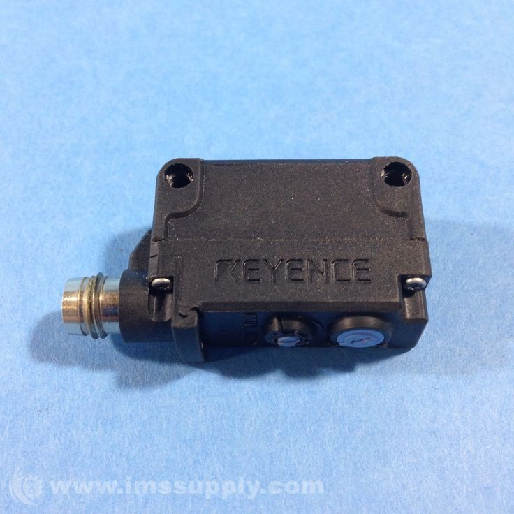 KEYENCE CORP PZ-G41CN PHOTOELECTRIC SENSOR NPN RED LED