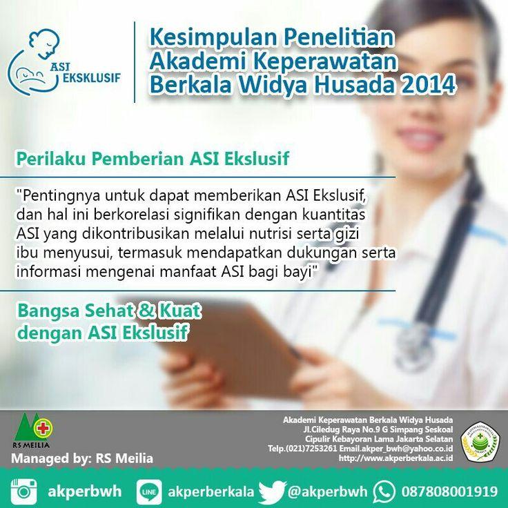 Pekan ASI #profesi #karir #akademi #diploma #keperawatan #perawat #kesehatan #kampus #kuliah #mahasiswa #pendaftaran #penerimaan #perguruantinggi #swasta #pts #akperberkala #akperbwh #rsmeilia #cibubur #depok #cileungsi #bekasi #bogor #tangerang #jakarta #indonesia