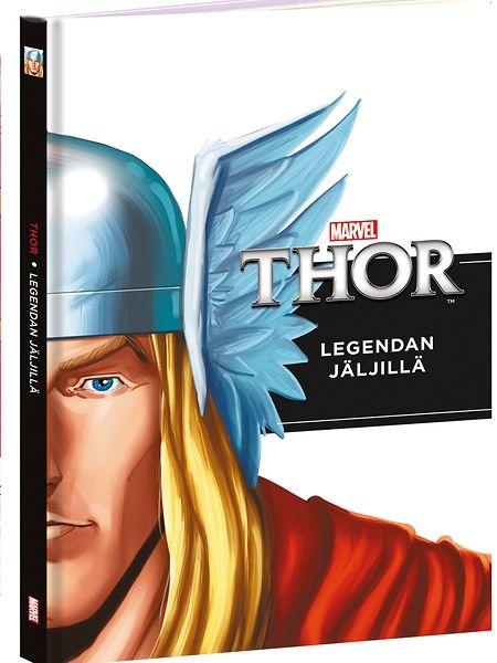 Thor, Legendan jäljillä -nuortenromaani kertoo, kuinka Thorista kasvoi suosittu supersankari!  Thor on suuri sankari ja Odin-kuninkaan poika Asgardin valtakunnassa. Hän on urhea ja rohkea, mutta häneltä puuttuu myötätuntoa. Odin lähettää poikansa ihmisten maailmaan oppimaan inhimillisyyttä. Vasta sen jälkeen Thor on valmis perimään valtakunnan.
