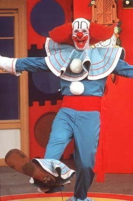 The Bozo Show! Every Saturday morning when I was little, I'd get up at 5:30 am, make a bowl of chicken mushroom ramen noodles for breakfast, and watch Bozo!!!! Loved that show!!!