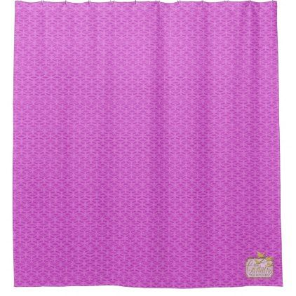 Light Pink Flat Patterned Popular Shower Curtain - shower gifts diy customize creative