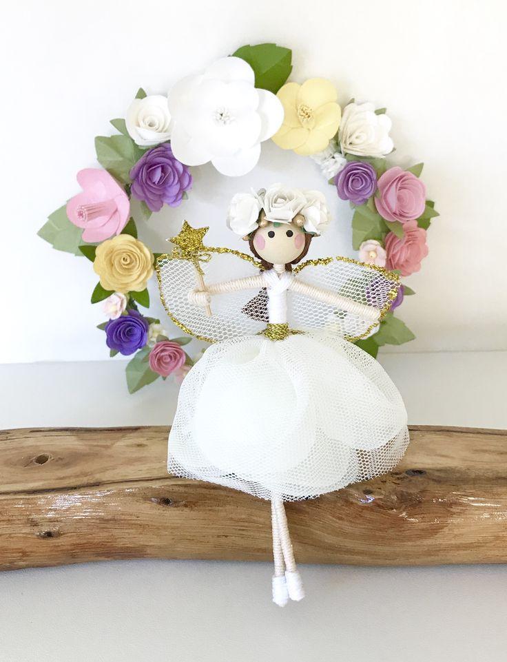 Fairy, Fairy Doll, Girls Room Decor, Handmade Decor