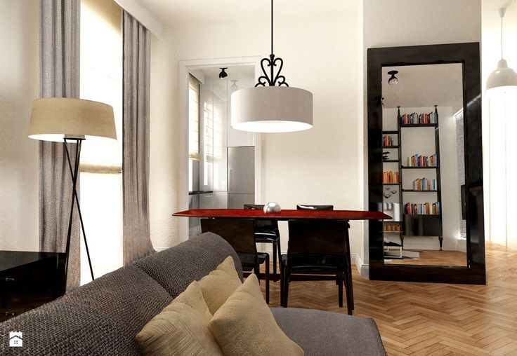 WILCZA Apartament w kamienicy - zdjęcie od 370studio - Salon - Styl Eklektyczny - 370studio
