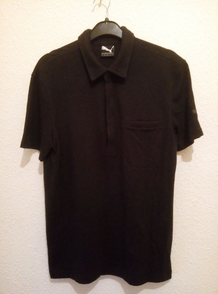 Puma Hussein Chalayan Polo T-Shirt Black Dont Follow The Crowd Tag Size S