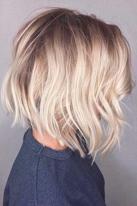 18 geschichtete Bob Haarschnitte für feines Haar
