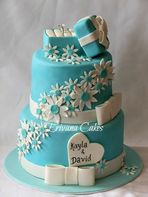 Kayla Shevonne Engagement Cake!