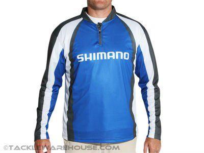 HOT!!! Technical Long Sleeve Shimano Fishing Shirt $12~$19
