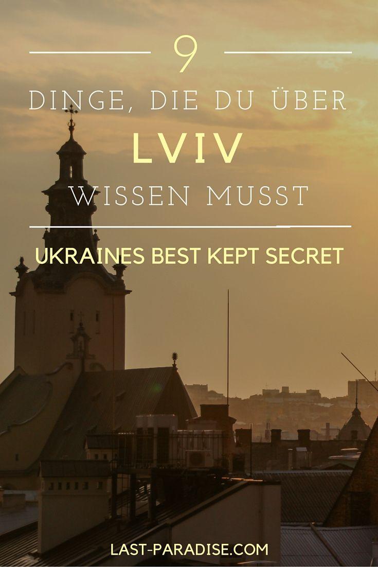Hast du schon mal etwas von Lviv gehört? Nein? Du solltest, denn Lviv ist DER Geheimtipp in Osteuropa! Welche 9 Dinge du über eine Reise nach Lviv wissen musst, erfährst du hier.