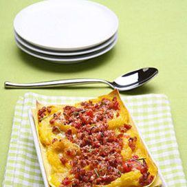 Ecco una ricetta che è una gustosa rivisitazione delle classiche lasagne alla bolognese