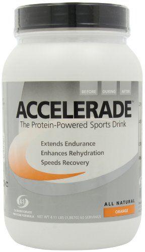 Pacific Health Accelerade, Orange, 4.11 lb Tub, 60 Servings | Multicityhealth.com List Price: $57.29 Discount: $22.06 Sale Price: $35.23