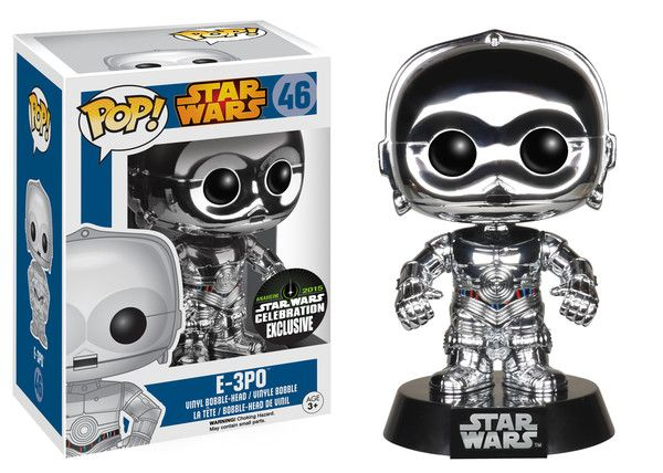We are excited to announce that Funko will be exhibiting at Star Wars Celebration 2015 in Anaheim, CA! You can find Funko at booth #1410! Today we are announcing our Pop! exclusives! Stay tuned for TWO more announcements leading up to the convention! Visit the Toy Tokyo booth for an exclusive R2-R9!