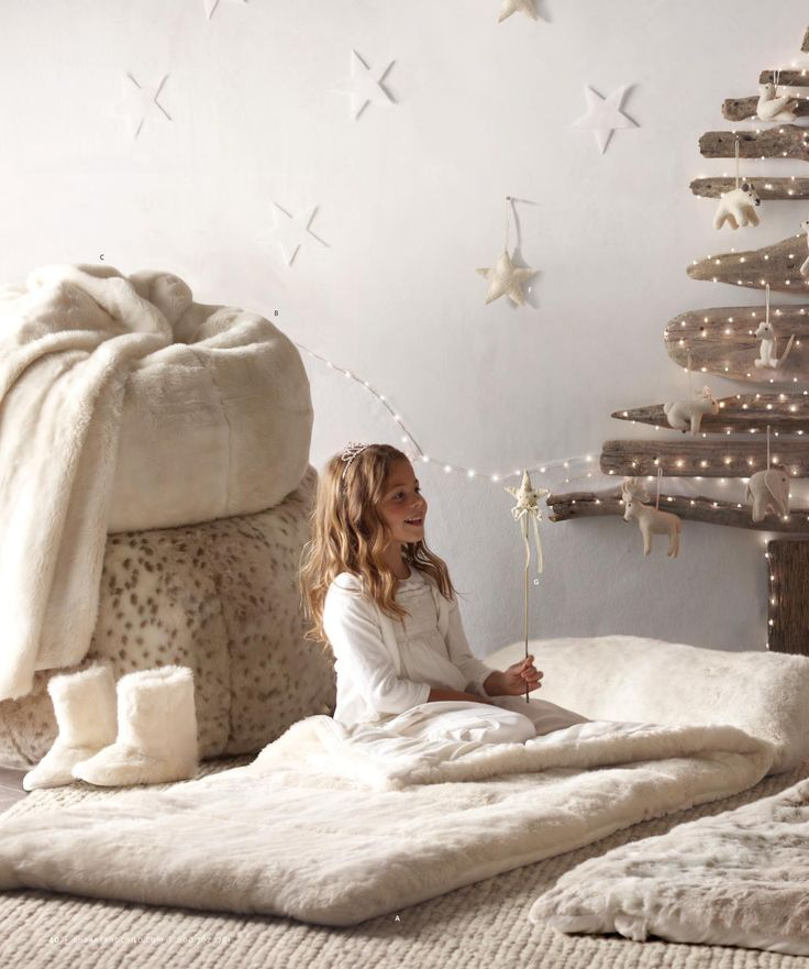 neutral beige christmas