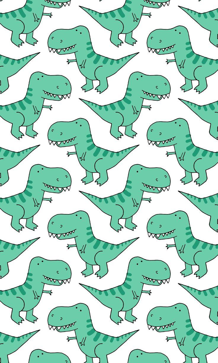 iPhone XS Case TRex Dinosaur Pattern (PATTTREX1C) by