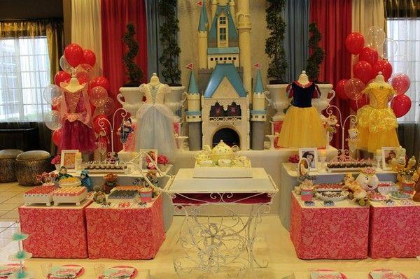 Disney Princess Party: Princesses Birthday, Disney Parties, Disney Princesses Baby, Dream Come True, Birthday Parties Ideas, Memories Parties, Disney Princesses Parties, Disney Princess Party, Dreams Coming True