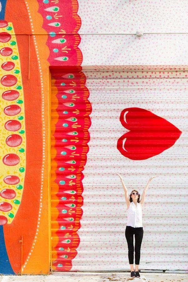 LOVE! ~Wynwood walls~