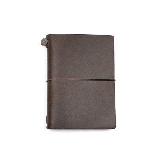 Traveler's Notebook Passport Size - Brun - Stilografika - notesbøger, fyldepenne, blyanter og tilbehør