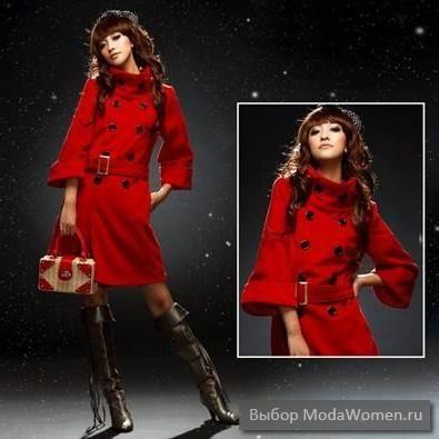Подобрать сапоги под красное пальто