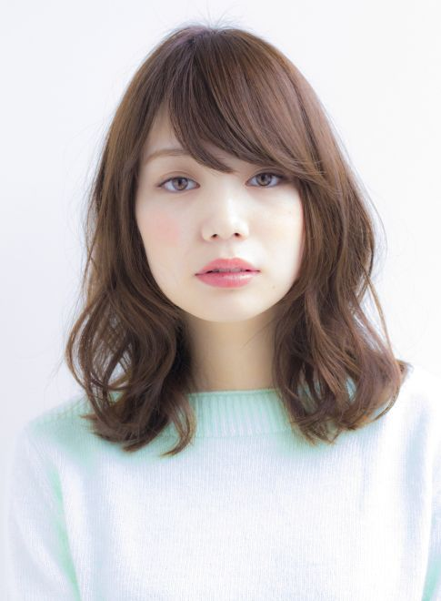 大人可愛いうっとりウェーブミディアム 【Ramie】 http://beautynavi.woman.excite.co.jp/salon/27006?pint ≪ #mediumhair #mediumstyle #mediumhairstyle #hairstyle・ミディアム・ヘアスタイル・髪形・髪型≫