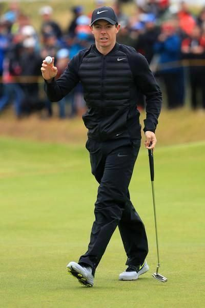 the best attitude edf4a d3b82 Rory McIlroy wearing Nike Lunar Control 4 Golf Shoes, Nike Classic 99  Fitted Golf Hat