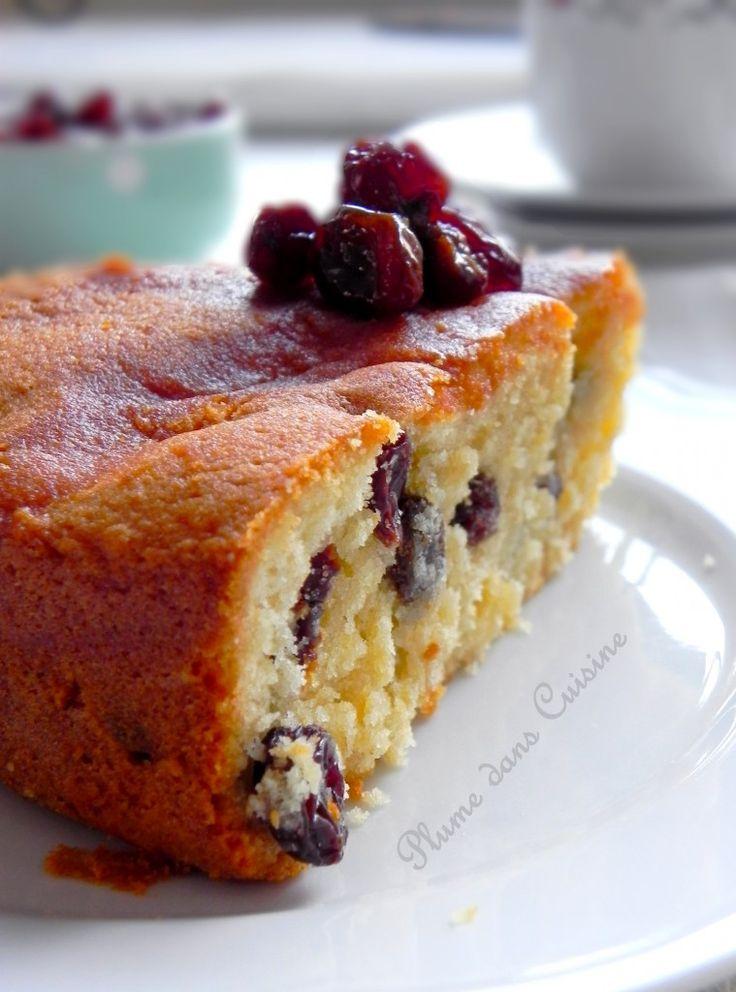 Gâteau rhum-raisins très moelleux
