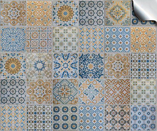 Die besten 25+ Fliesenaufkleber mosaik Ideen auf Pinterest - fliesen tapete k che
