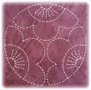 One World Fabrics: Shop | Category: Sashiko Supplies and Patterns……reépinglé par Maurie Daboux….ღ. ¸.•*¨