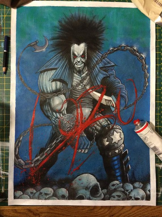 Hey, I found this really awesome Etsy listing at https://www.etsy.com/uk/listing/459604690/lobo-original-a3-painting-signed-by