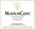 yum. dry.   Mouton Cadet Bordeaux, a Bordeaux Rosé Bordeaux Blend by Baron Philippe De Rothschild
