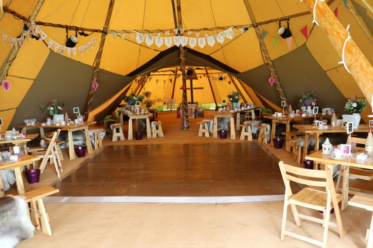 how to set up a tipi