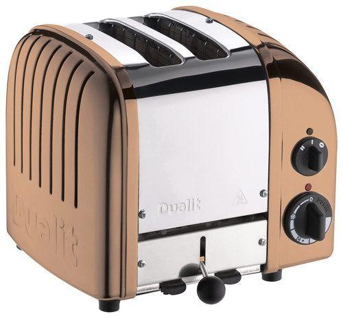 Dualit - NewGen 2-Slice Extra-Wide Slot Toaster - Copper (Brown), 27440
