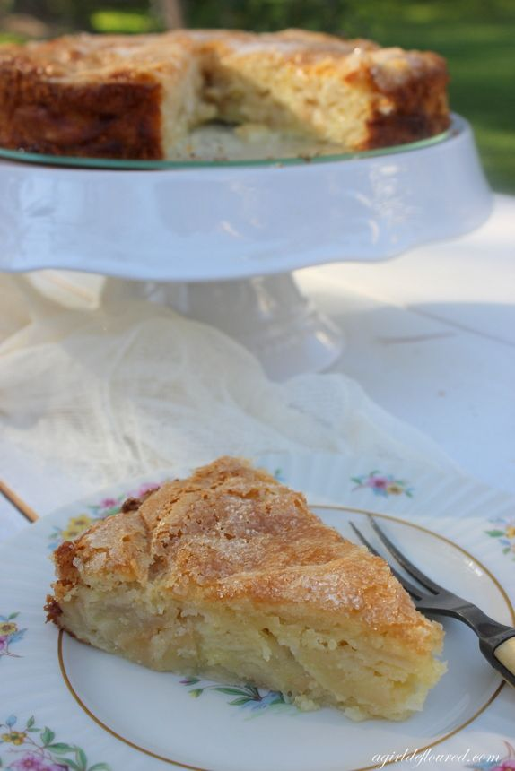 Gluten-Free French Apple Cake| a girl defloured
