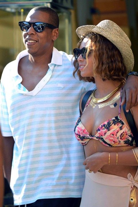 Jay Z And Beyonce In Portofino - Beyonce And Jay-Z's Family Album
