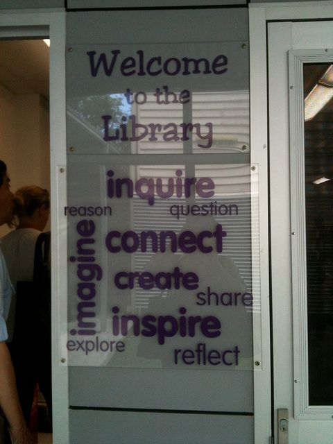 Do people know what you stand for from the moment they walk in the door?  Love this idea.