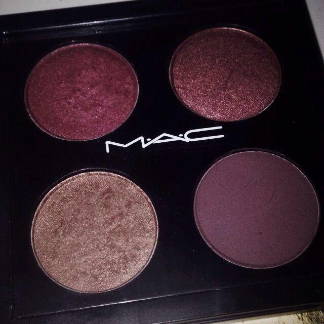 MAC • cranberry • star violet • sable • blackberry ✨ #Macmakeup