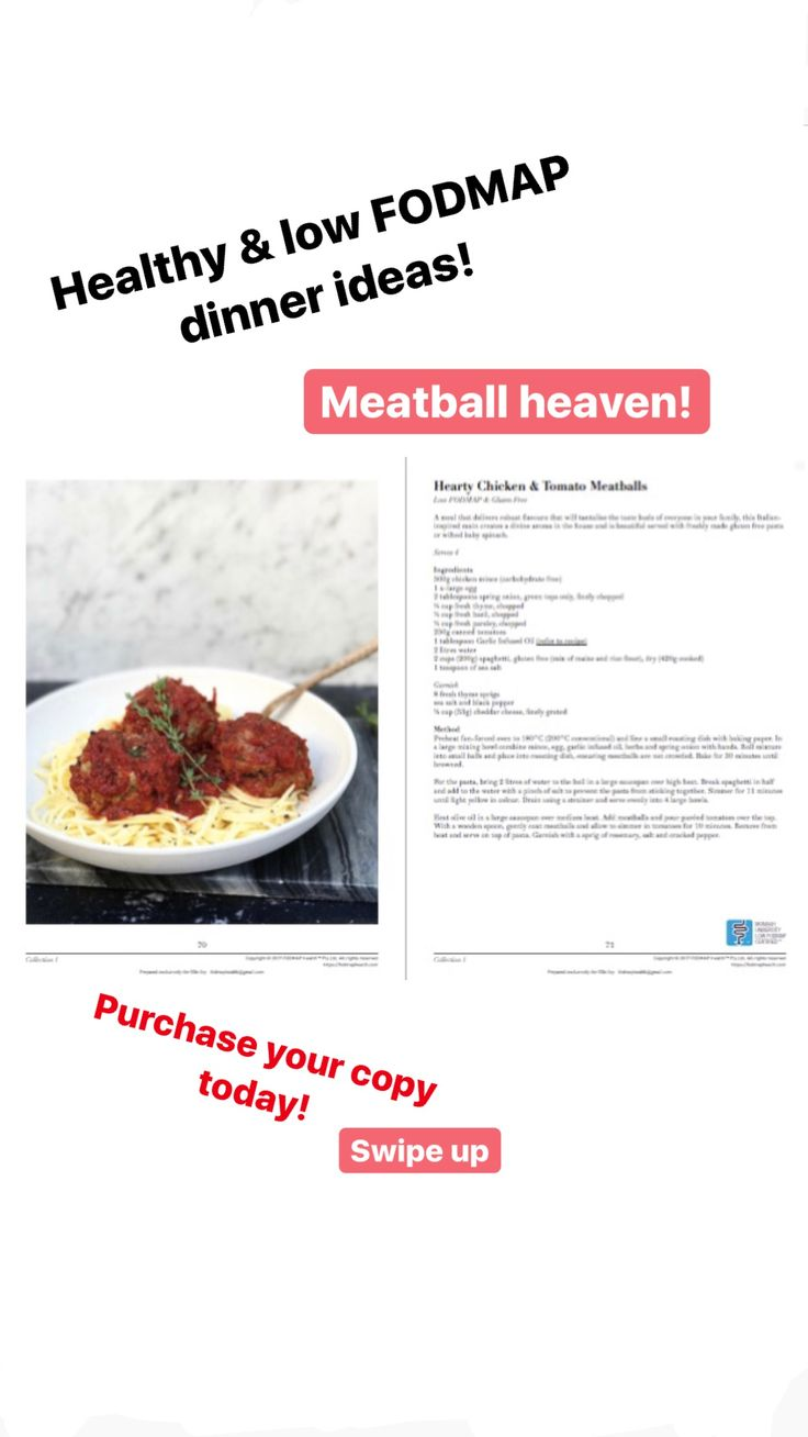 Low FODMAP & Gluten Free Meatballs!  Healthy recipes  Cookbook Wheat free  Lactose free Dairy free www.instagram.com/fodmaphealth