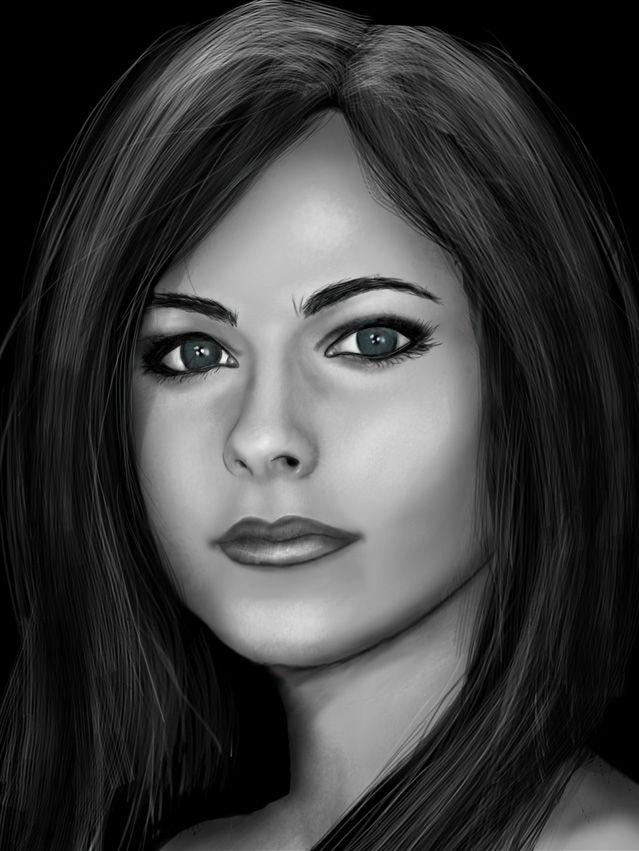 Visage femme dessin zimg dessin de visage dessin visage femme dessin et dessin - Profil dessin ...