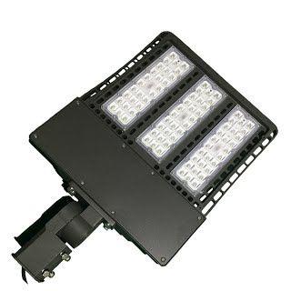 """Features & Benefits"" 1000LED 300W LED Shoebox Pole Light 33,600Lm 1000W HID/HPS Equal 5000K AC100-277V Input Voltage Waterproof IP65 UL DLC Listed Street Area Parking Lot Lights"