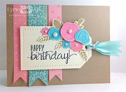 Re-use scraps of paper to make homemade cards ♥