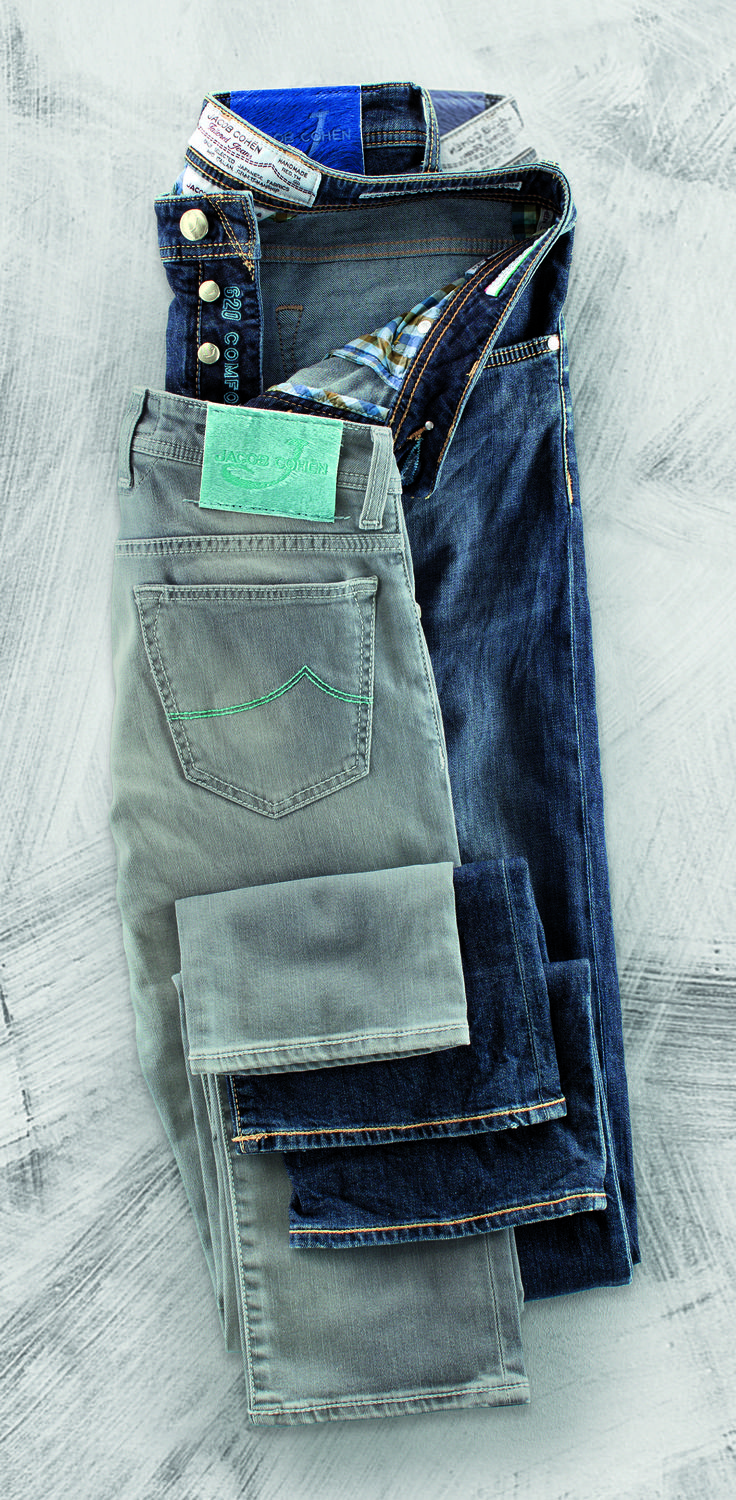 Jeans by Jacob Cohen http://www.eckerle.de/casual-selection-2014/?/CasualSelection2014-9-10