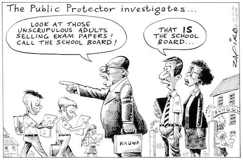 South African education in crisis.