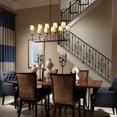 Spaces Upholstered Dining Room Chairs Design, Pictures, Remodel, Decor And  Ideas   Page 8