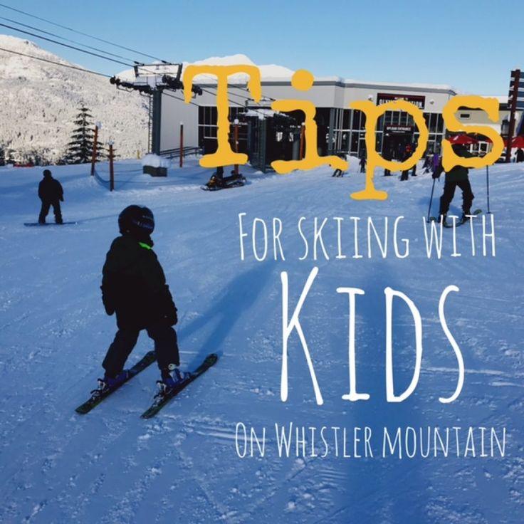 Tips skiing Whistler Mountain with kids.